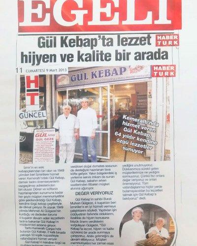 Gül Kebap Haber Türk Egeli