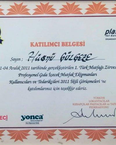 Gül Kebap Türk Mutfağı Zirvesi