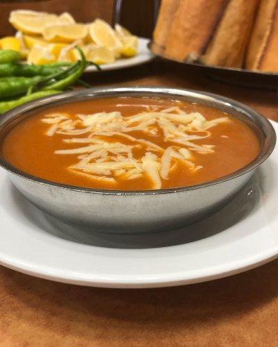 Gül Kebap Domates Çorbası