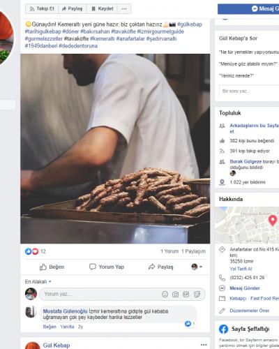 Gül Kebap facebook